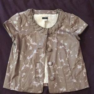Jcrew unique short sleeve jacket